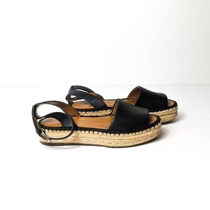 Franco Sarto Black RAVENNA Espadrille Sandals